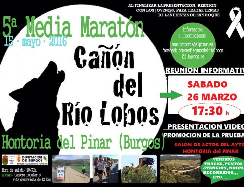 Sesión informativa en Hontoria para la media maratón del Cañón de Río Lobos